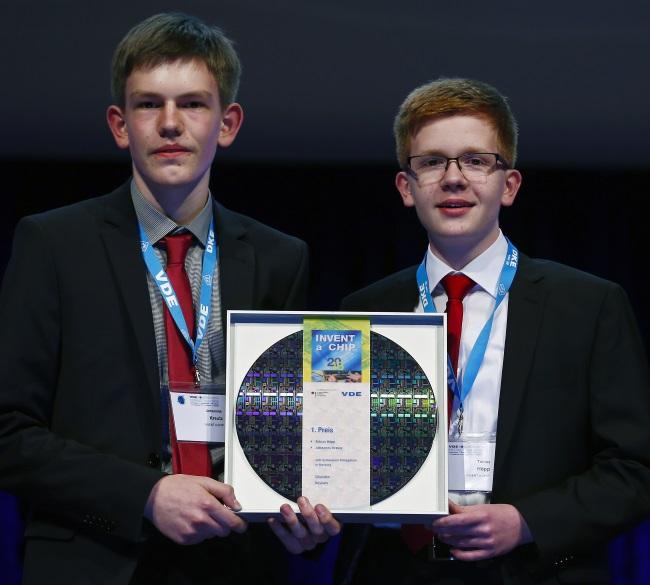 VDE-Schülerwettbewerb, Sieger 2016